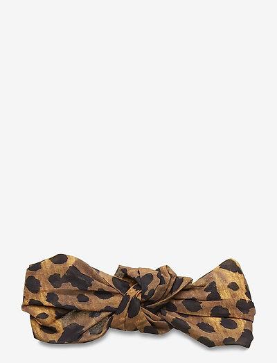 Leo Knot Hairband - hårbånd - brownie