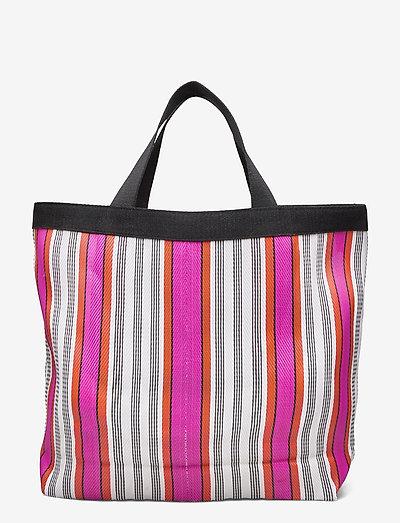 Bask Lillian Bag - tote bags - rose red