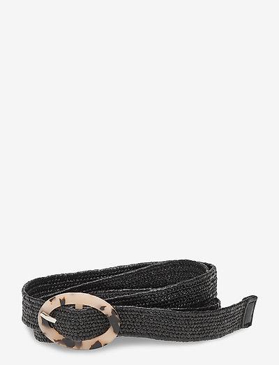 Zia Solid Belt - bælter - black