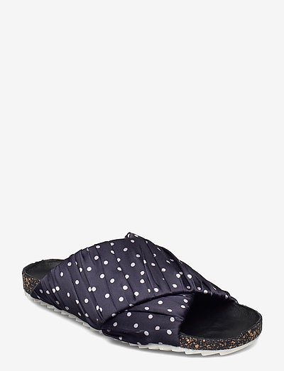 Dot Strap Sandal - flade sandaler - night sky