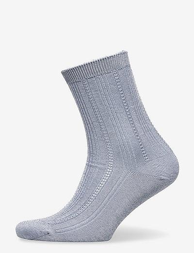 Glitter Drake Sock - almindelige strømper - eventide