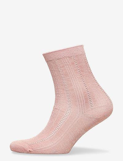 Glitter Drake Sock - almindelige strømper - violet ice