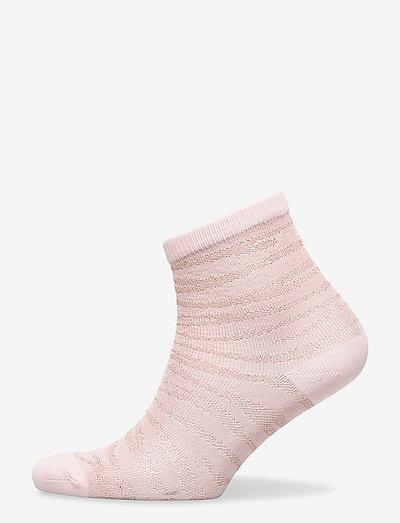 Zebra Glitzi Sock - ankelstrømper - violet ice