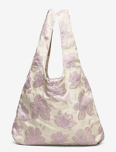 Amora Shopper Tote - tote bags - rose shadow