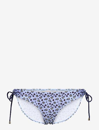Damita Bibi Bikini Bottom - side tie bikinier - forever blue