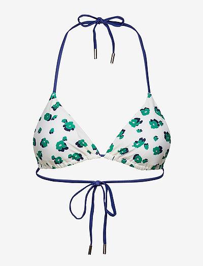 Amapoly Bikini Top - trekant-bikinis - off white