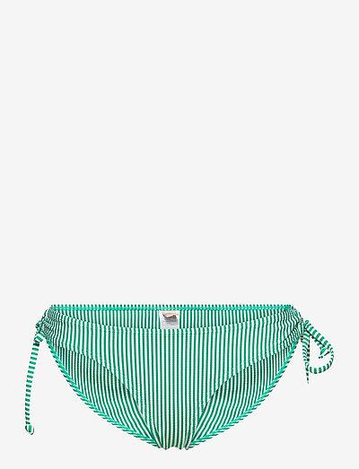 Striba Bibi Bottom - side tie bikinier - golf green