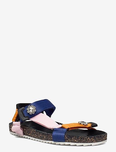 Velcro Galia Sandal - flade sandaler - russet orange