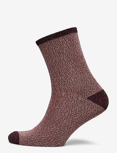 Drop Needle Glow Sock - chaussettes - dusty pink