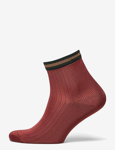 Sporty Reina Sock - ankelstrømper - burnt sienna