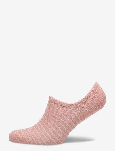 Sneakie Stripe Sock - ankelstrømper - dusty pink