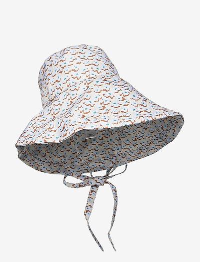 Amapola Bucket Hat - bøllehatte - oyster gray