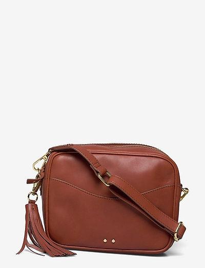 Veg Pippa Bag - crossbody bags - coconut brown