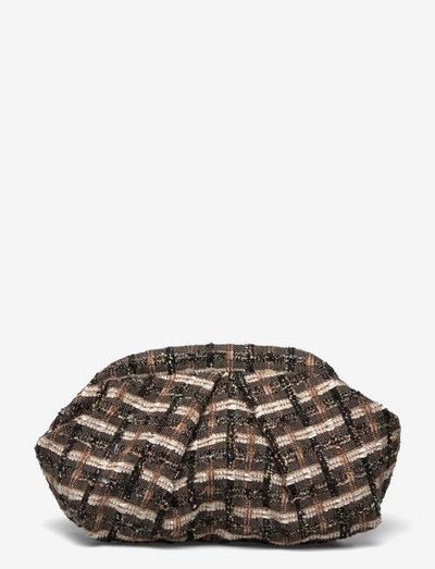 Tahoma Bonita Bag - clutches - pecan brown