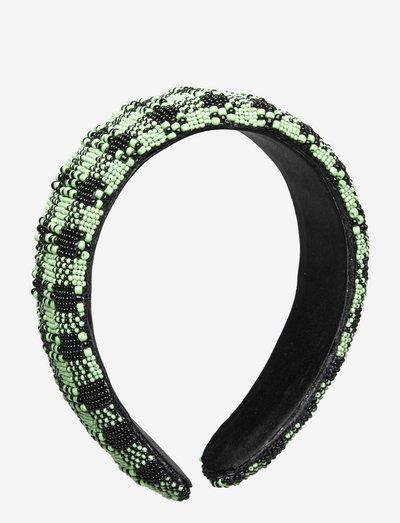 Mukka Hairbrace - hårbånd - nile green