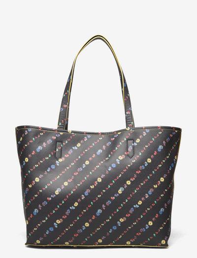 Liluye Petit Lotta Bag - tote bags - black