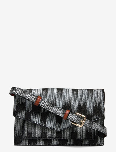Gleam Regina Bag - crossbody bags - black