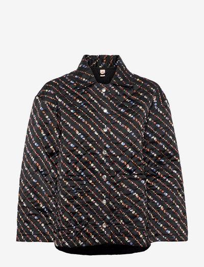 Liluye Quilted Jacket - quiltede jakker - black