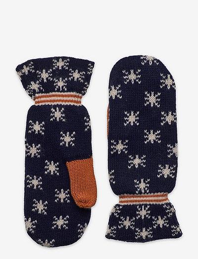 Awen Emerald Mittens - handsker & vanter - maritime blue