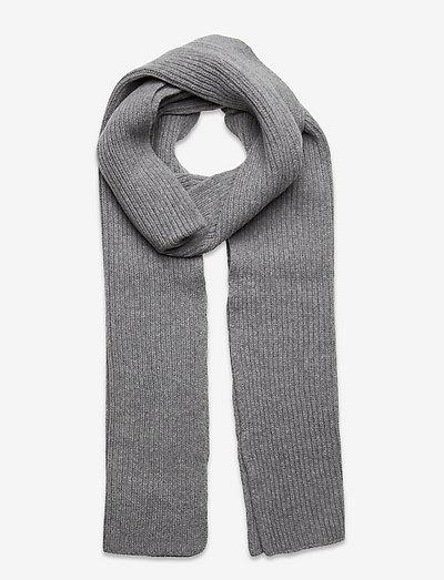 Cass Scarf - halstørklæder - grey melange