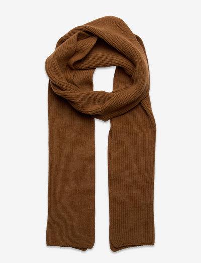 Cass Scarf - halstørklæder - pecan brown