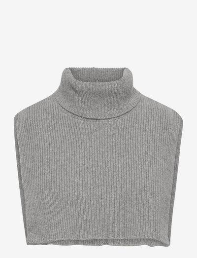 Colby Bib Neck - halsvarmere - grey melange
