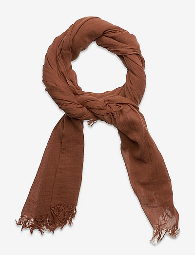 Solid Gaze Ilkana Scarf - kevyet huivit - pecan brown