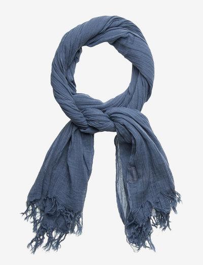Solid Gaze Ilkana Scarf - tynde tørklæder - provincial blue