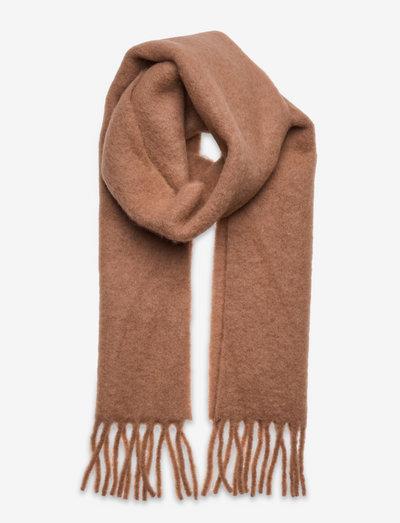 Yuta Scarf - halstørklæder - warm sand