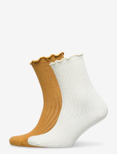 Mix Sock Pack W.3 - almindelige strømper - white/sand