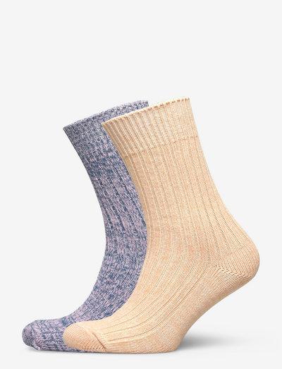Mix Sock Pack W.11 - chaussettes - sand/mauvemist