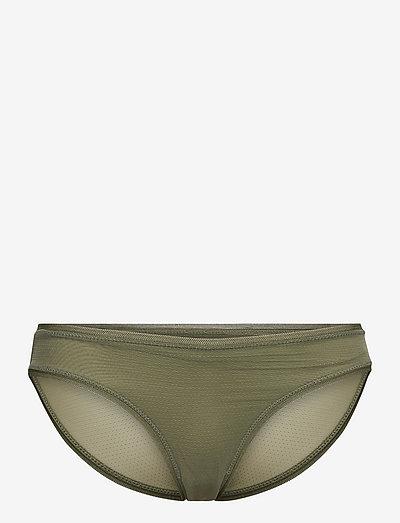 Pointe Mesh Tallie Bottom - briefs - olivine