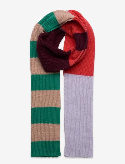 Cass Block Scarf - halstørklæder - ming green