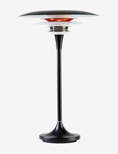 Table lamp Diablo - bordlamper - flat black/glossy red