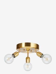Spotlights Regal round 3 - taklamper - brass