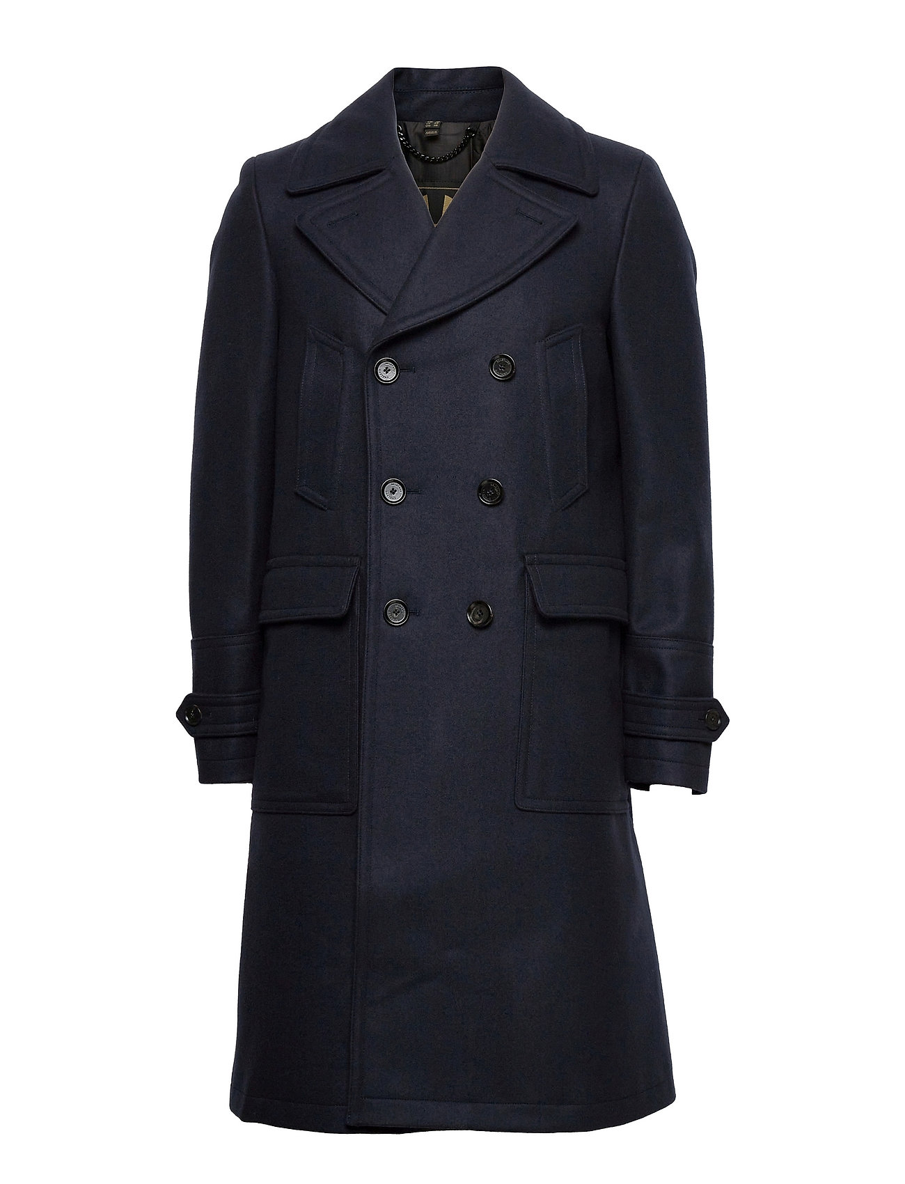 New Milford Coat Tynd Frakke Blå Belstaff