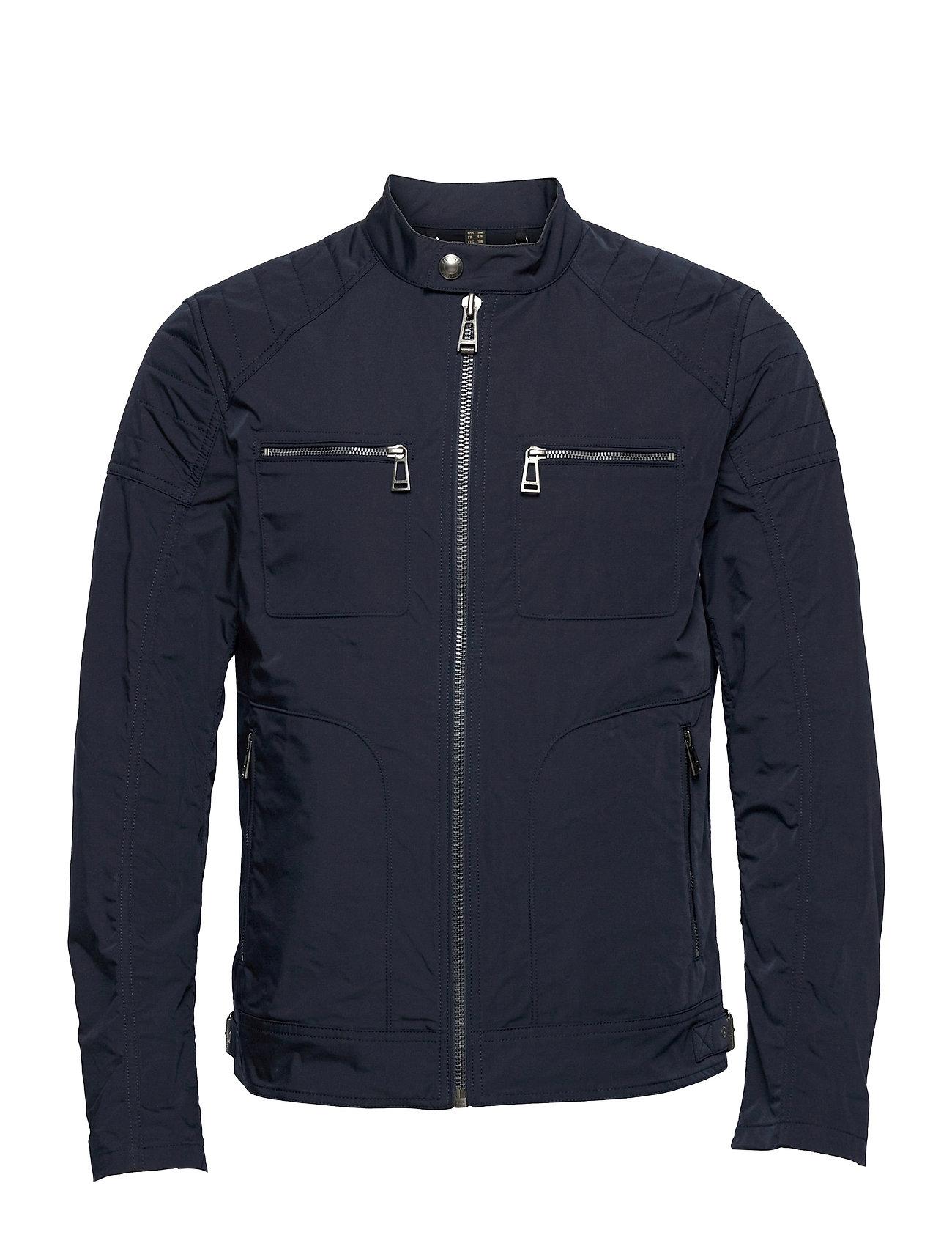 Weybridge Jacket Tynd Jakke Blå Belstaff