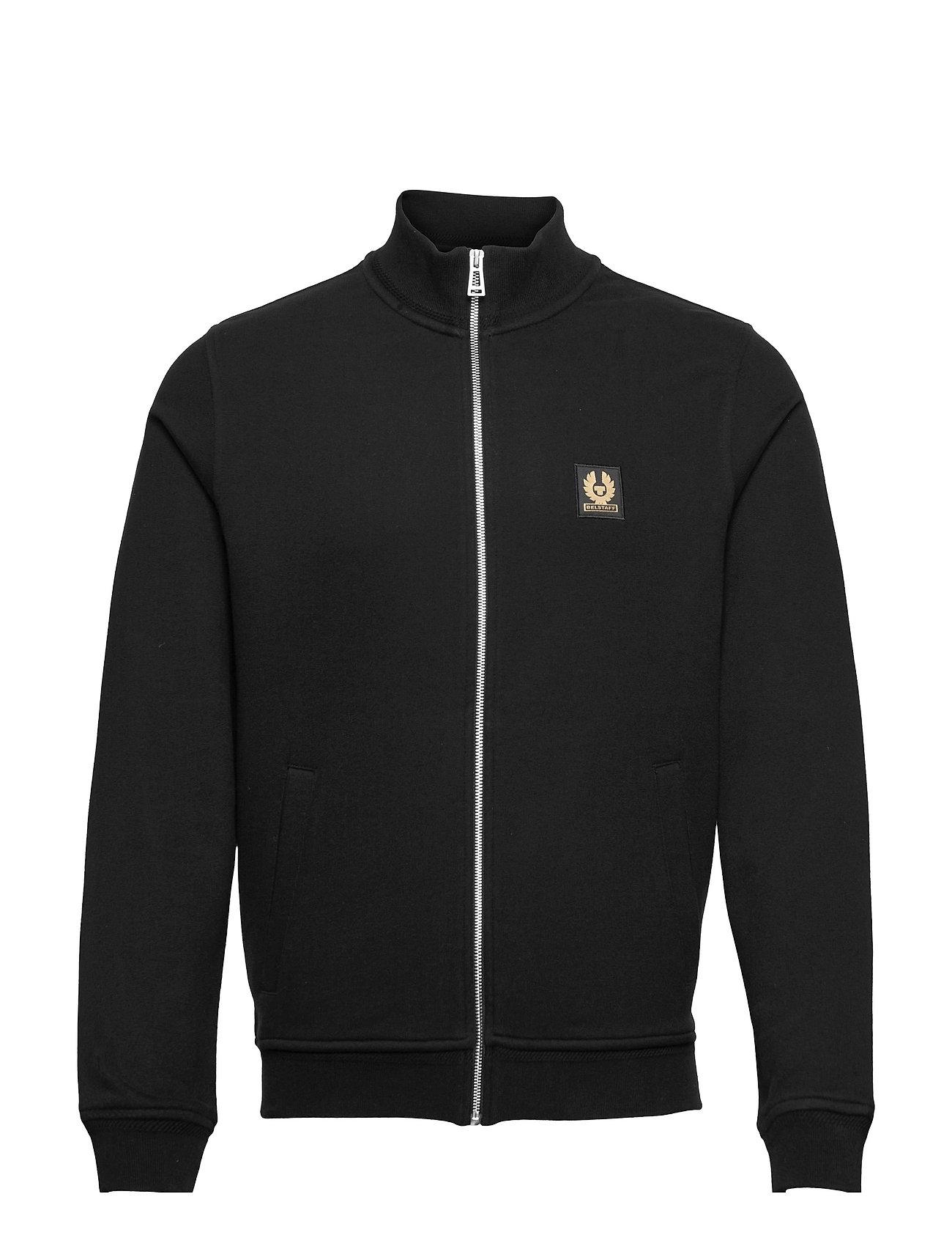 Belstaff Zip Through Sweatshirt Trøje Sort Belstaff