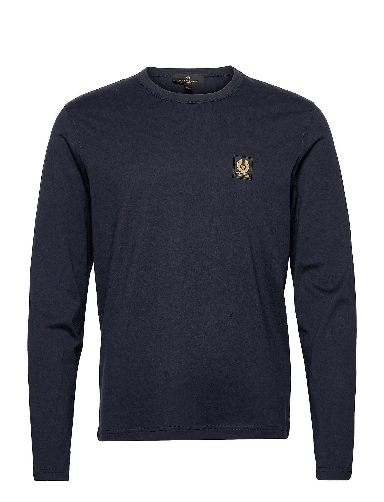 Belstaff L/S T-Shirt T-Langærmet Skjorte Blå Belstaff