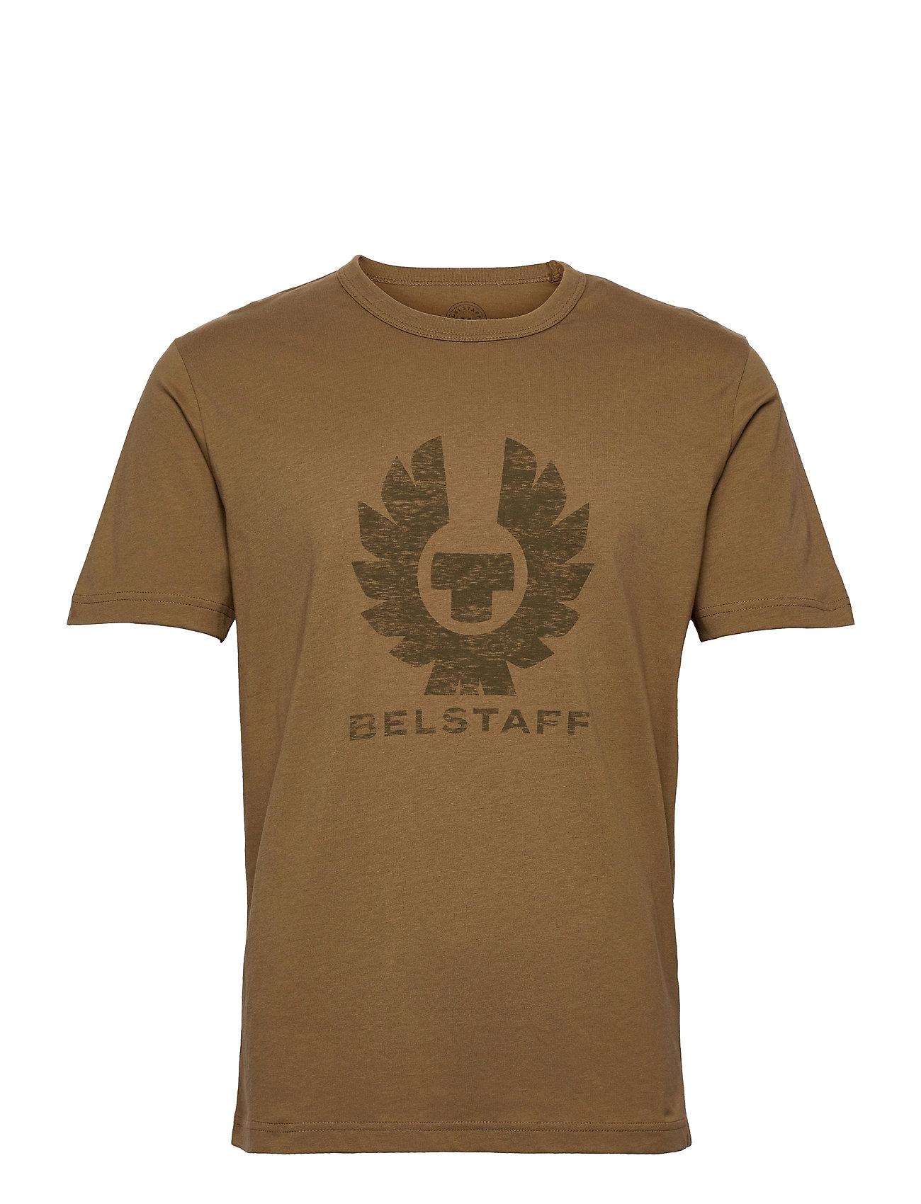 Coteland 2.0 T-Shirt T-shirt Brun Belstaff