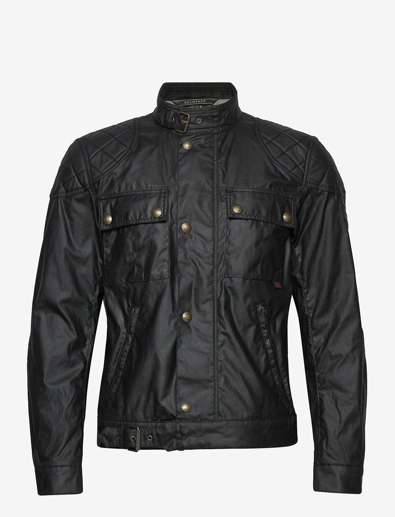 Agnes Gray lanzadera Pies suaves  Brookstone Jacket (Black) (450 €) - Belstaff -   Boozt.com