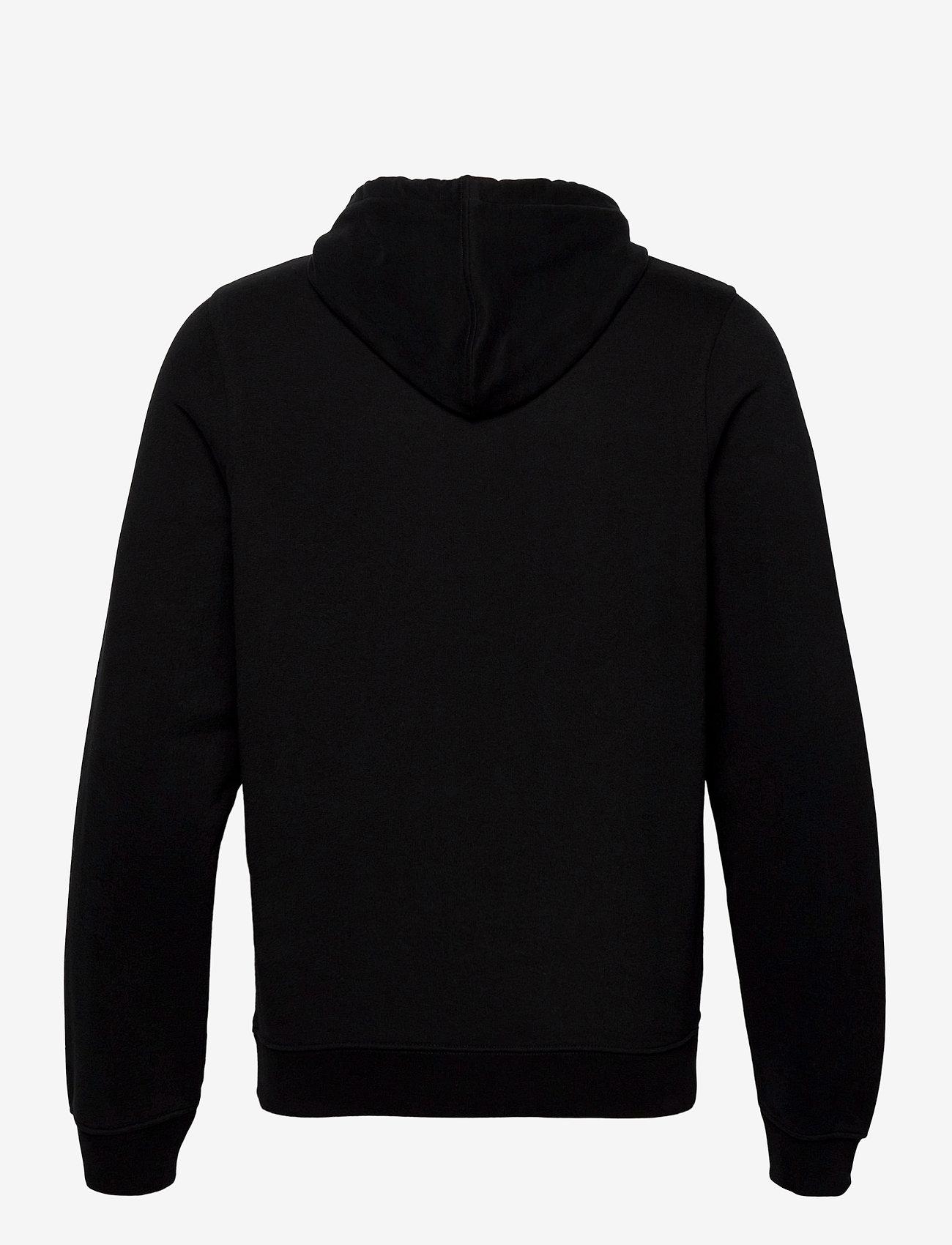 Belstaff - EMBROIDERY APPLIQUE HOODIE - hoodies - black - 1