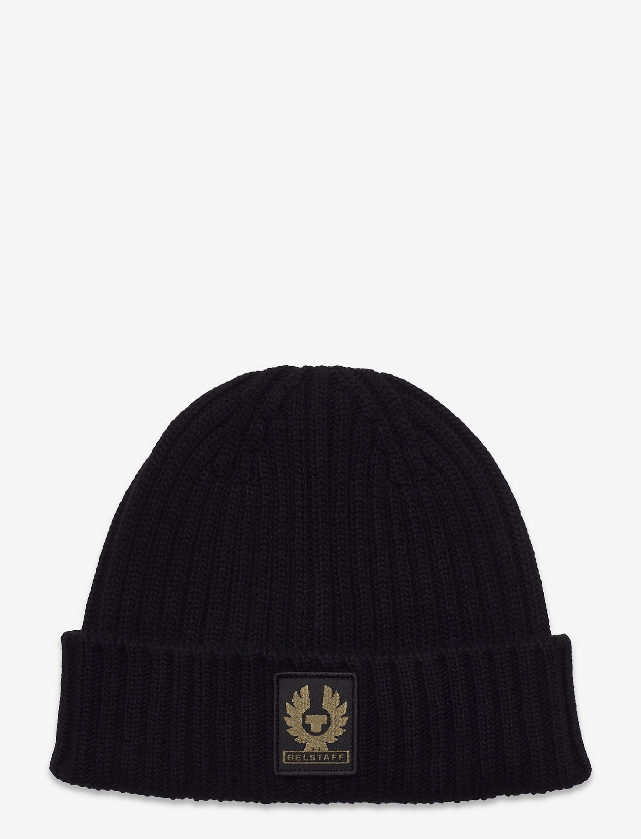 Belstaff - WATCH HAT W/PATCH - bonnets & casquettes - black - 0