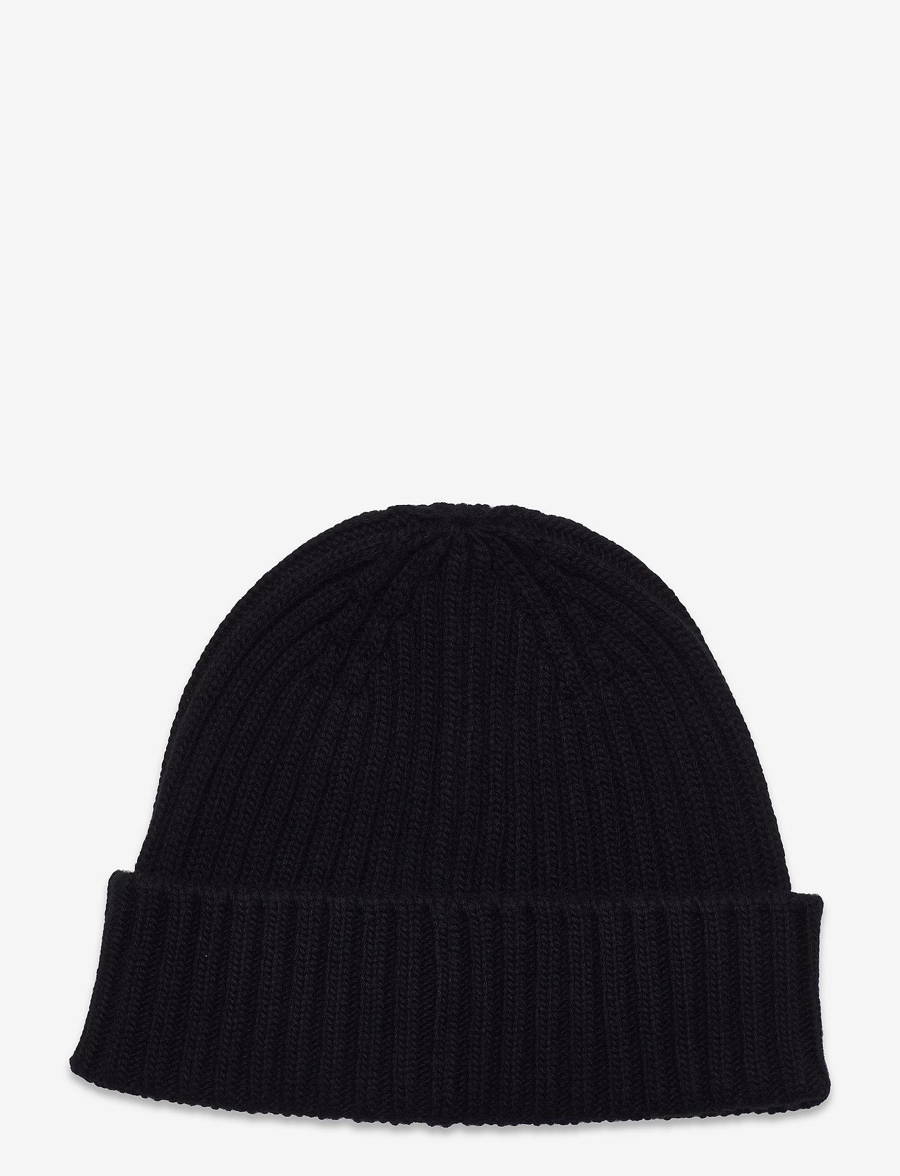 Belstaff - WATCH HAT W/PATCH - bonnets & casquettes - black - 1