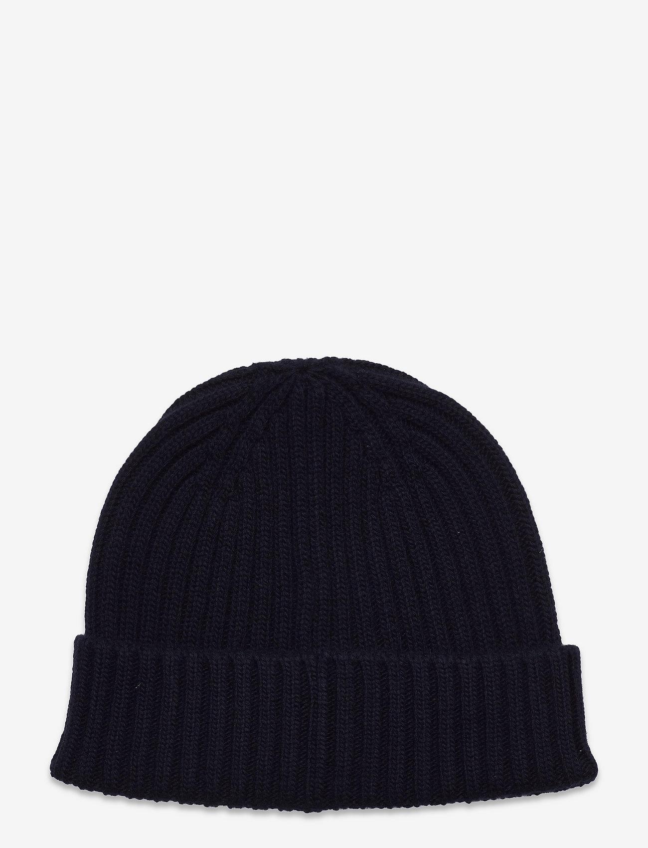 Belstaff - WATCH HAT W/PATCH - bonnets & casquettes - dark navy - 1