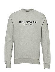 BELSTAFF 1924 SWEATSHIRT - GREY MELANGE