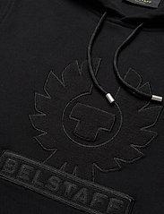 Belstaff - EMBROIDERY APPLIQUE HOODIE - hoodies - black - 2