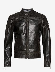 OUTLAW 2.0 JACKET - leather jackets - black