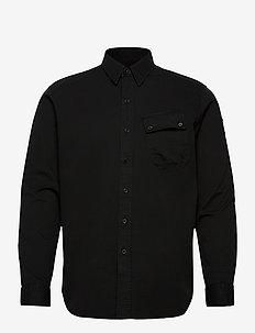 PITCH SHIRT - avslappede skjorter - black