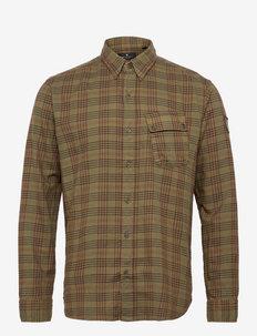 PITCH SHIRT - linnen overhemden - salvia
